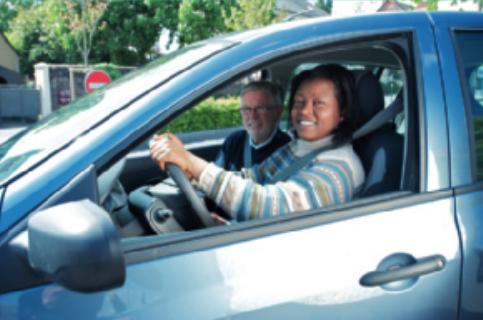 La conduite supervisée sur les routes de Brocéliande