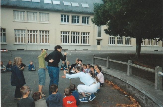Eurêka Emplois Services - animation auprès des enfants