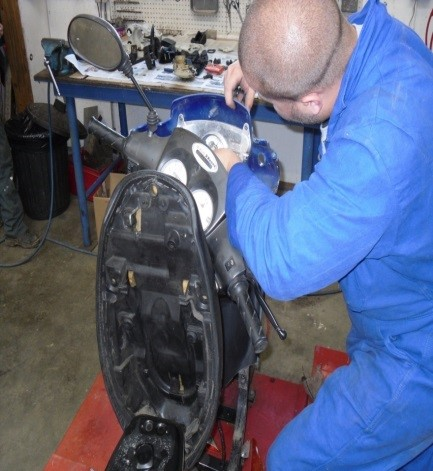 Eurêka Emplois Services - atelier mécanique