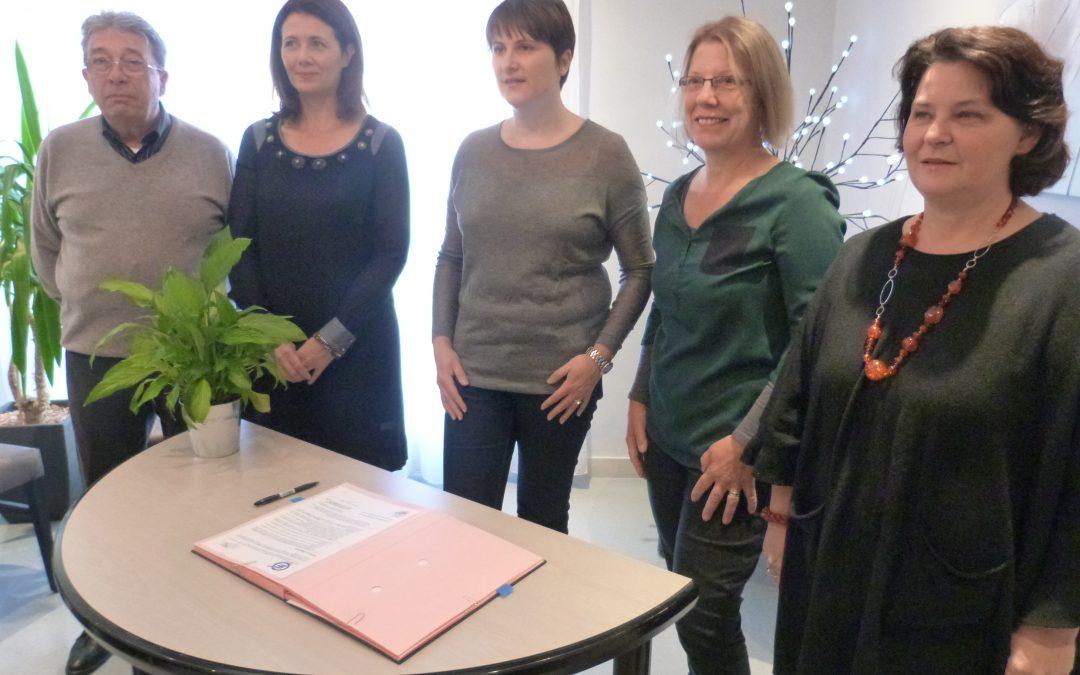 Résidence autonomie de l'Ourme : partenariat signé avec Eurêka