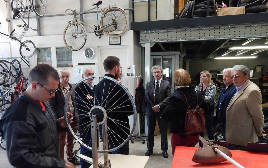 Eurêka remet les vieux vélos en circulation